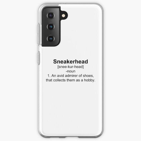 Définition Sneakerhead Shirt Coque souple Samsung Galaxy