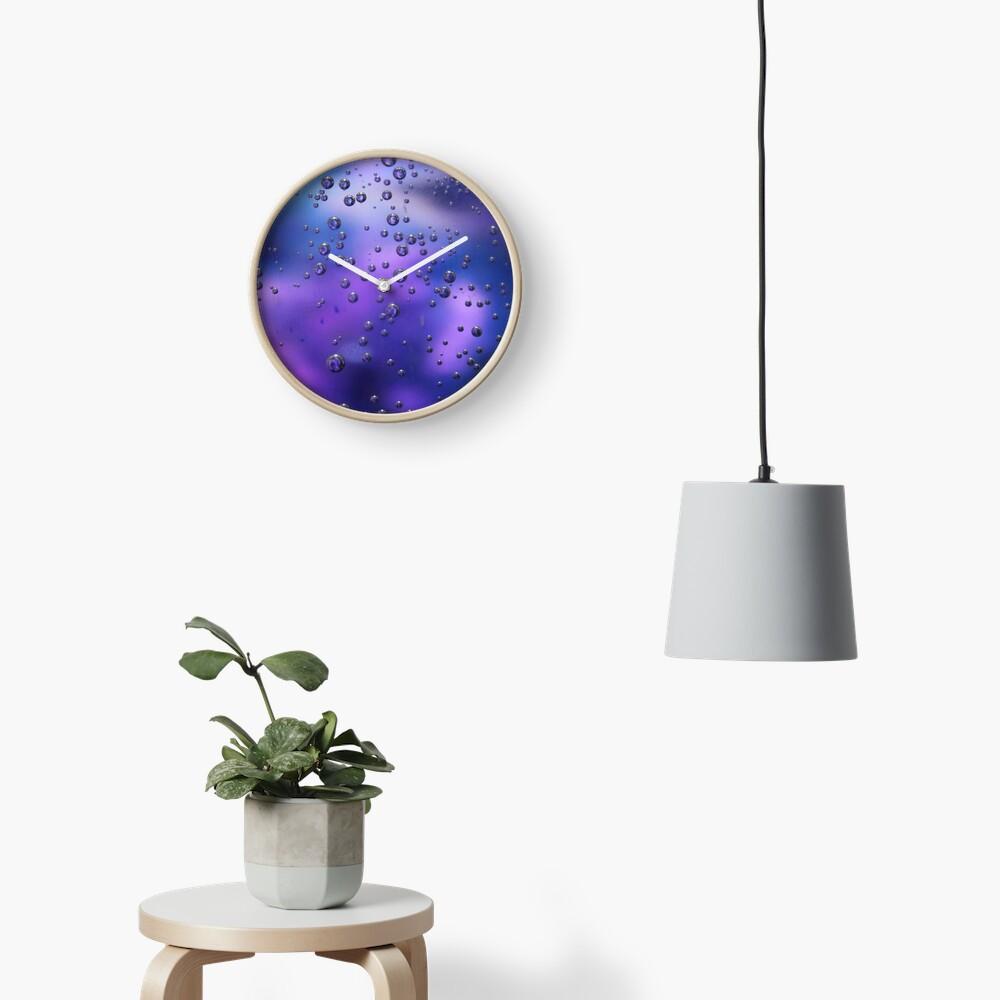 Bubbles Clock