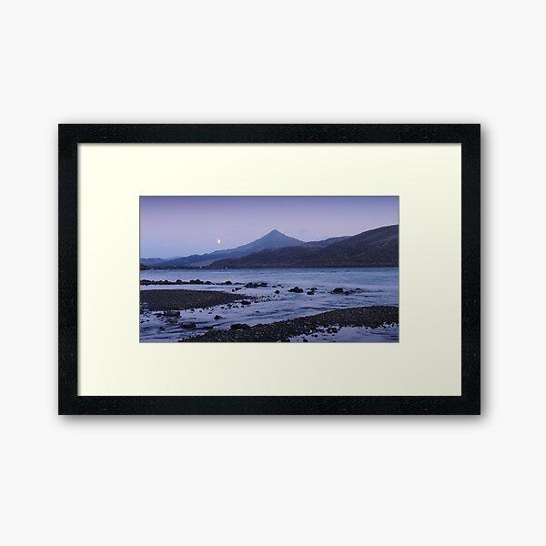 Moonrise, Schiehallion, Rannoch Framed Art Print