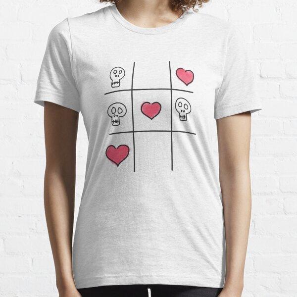 Skull Tac Toe Essential T-Shirt