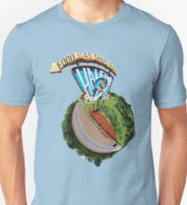 Haleiwa Sign MAN - Fish-eye Lens Unisex T-Shirt
