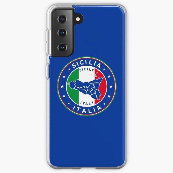 Sicile, Sicile, Italie Coque souple Samsung Galaxy