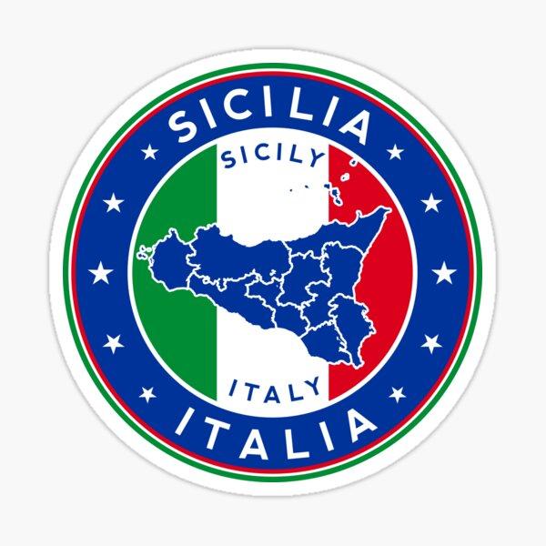 Sicily, Sicilia, Italia Sticker