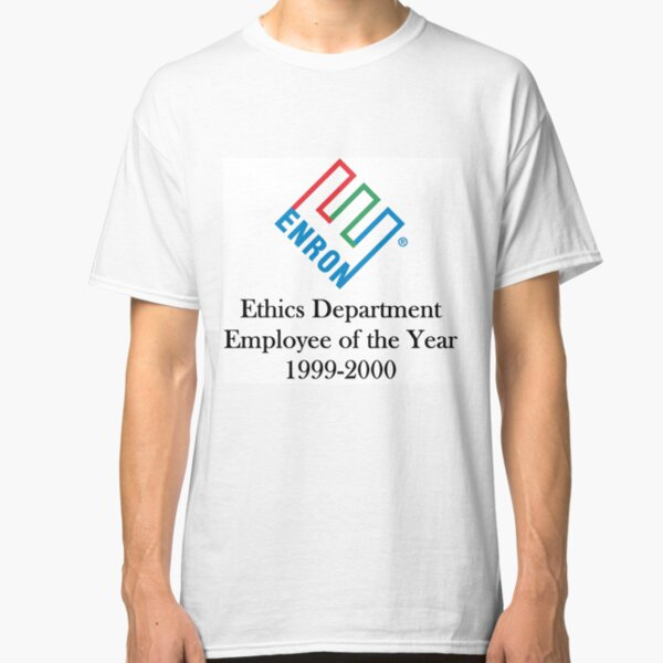Enron ethics department satire/ parody  Classic T-Shirt