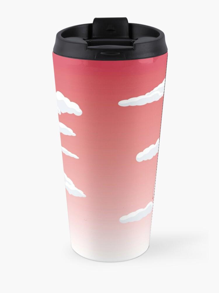 Alternate view of Get happy Travel Mug