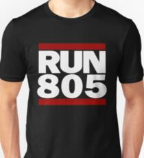 805 Design Run California Gifts 805 Shirt Unisex T-Shirt