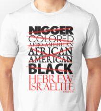Camiseta unisex HEBREO ISRAELITA WHT