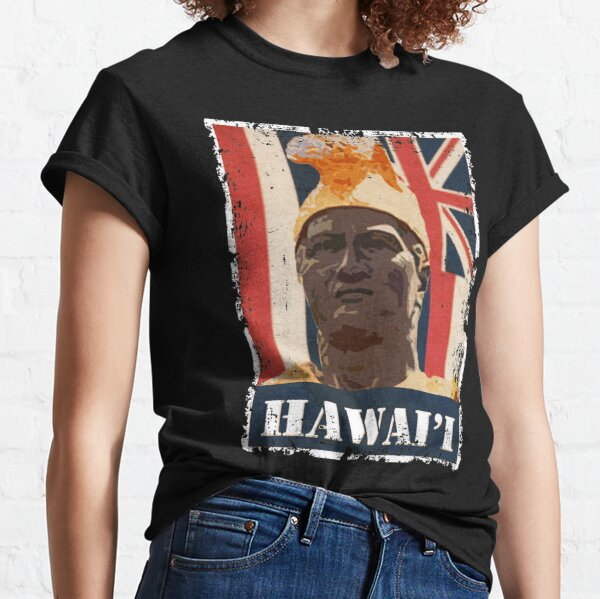 Hawai'i King Kamehameha (colored variant) by Hawaii Nei All Day Classic T-Shirt