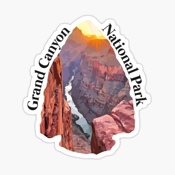 Grand Canyon National Park Illustration Sticker