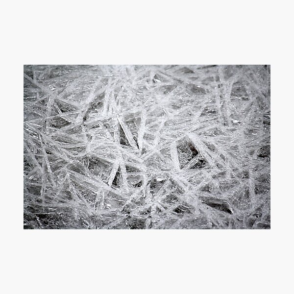 Ice Crystals Photographic Print