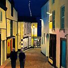 St Ives Evening Stroll by Richard Paul