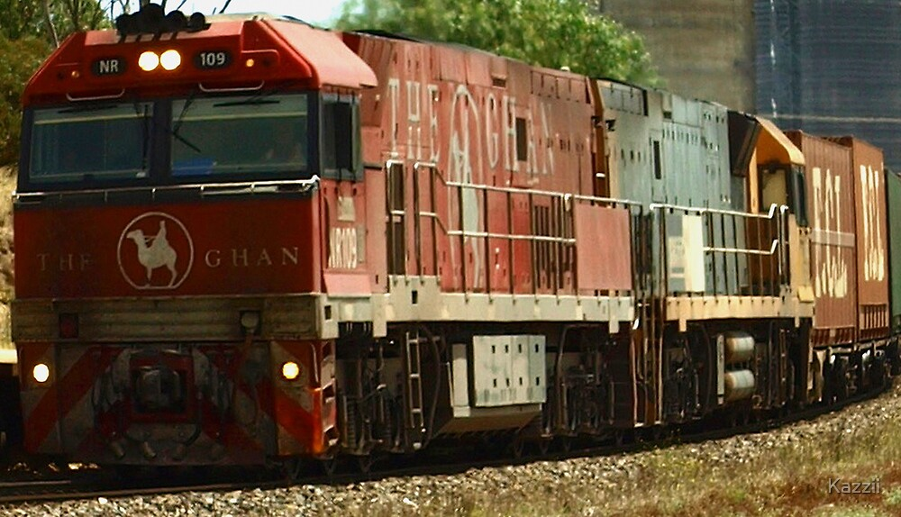 Going, Going, Ghan by Kazzii
