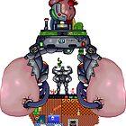 Love of the games of the 90 PIXEL ART by Nazareno Gonzalez
