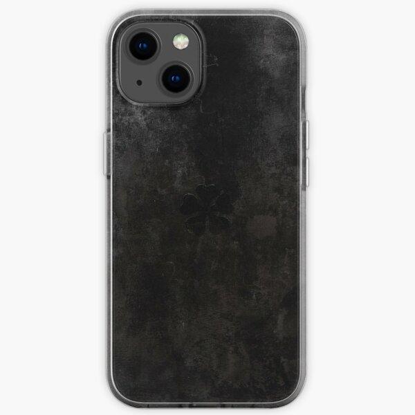 Black Clover Asta Grimoire iPhone Soft Case
