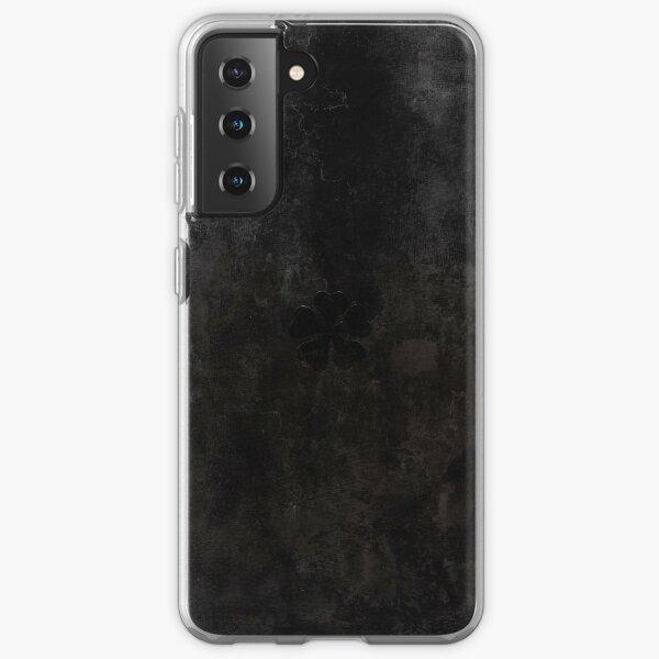 Black Clover Asta Grimoire Samsung Galaxy Soft Case