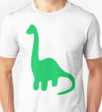 Brachiosaurus, Long-Neck Dinosaur (Loch Ness Monster) T-Shirt