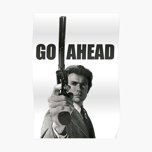 Clint Eastwood - Allez-y Poster