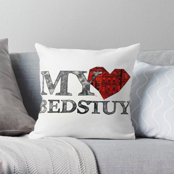 Bedstuy Throw Pillow