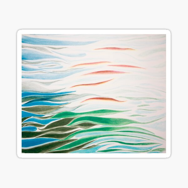 Abstract Reflection Sticker