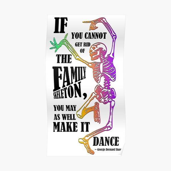Make your skeletons dance! Poster