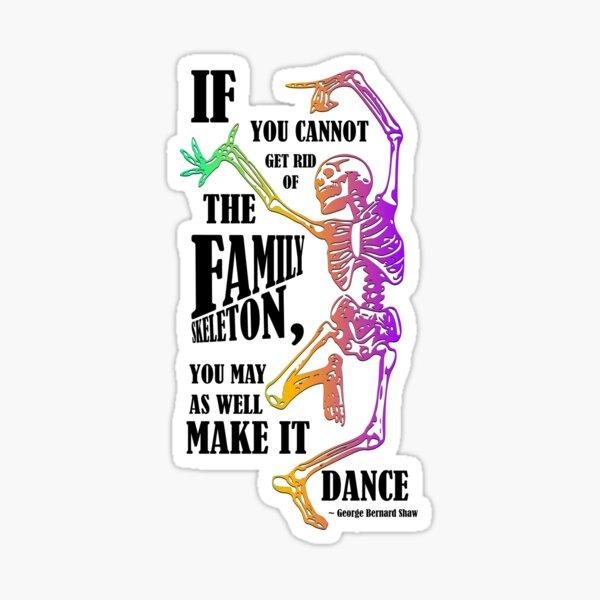 Make your skeletons dance! Sticker