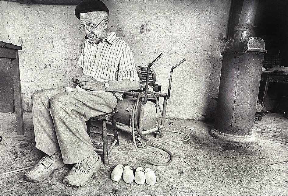 wooden shoes by BOBR