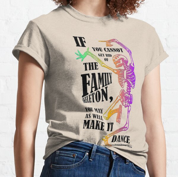 Make your skeletons dance! Classic T-Shirt