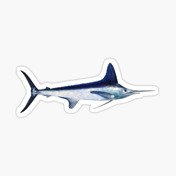 White Marlin Sticker
