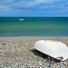 Two Boats.Wicklow. Ireland by EUNAN SWEENEY