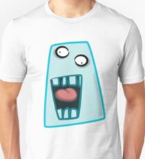 Funny cartoon blue face T-Shirt