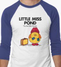 Little Miss Pond Men's Baseball ¾ T-Shirt