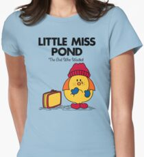 Little Miss Pond Womens Fitted T-Shirt