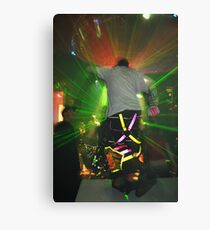 Lazer fun Canvas Print