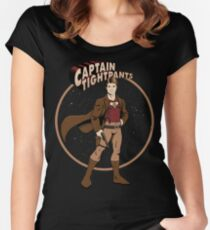 Captain Tightpants Women's Fitted Scoop T-Shirt
