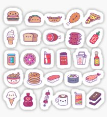 Food Set Sticker