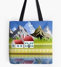 Scenic landscape Tote Bag