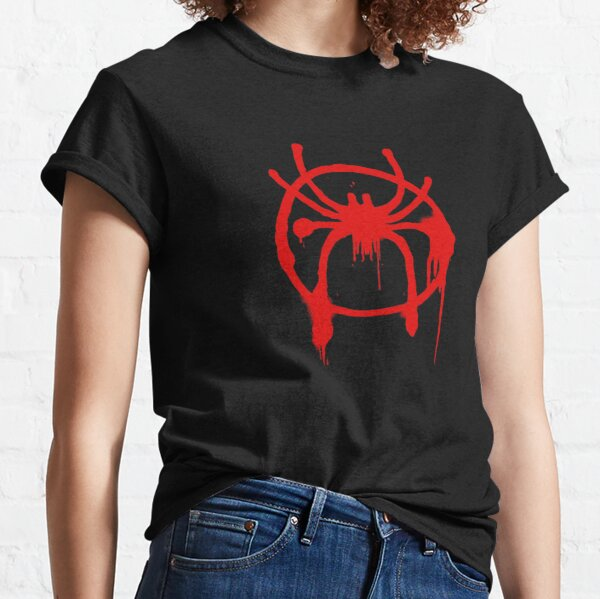 Miles Morales Into the Spider-Verse logo Classic T-Shirt