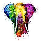 Rainbow Elephant  by Apatche Revealed