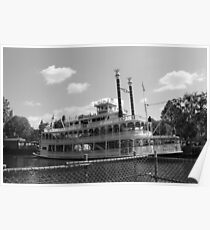Mark Twain Riverboat  Poster