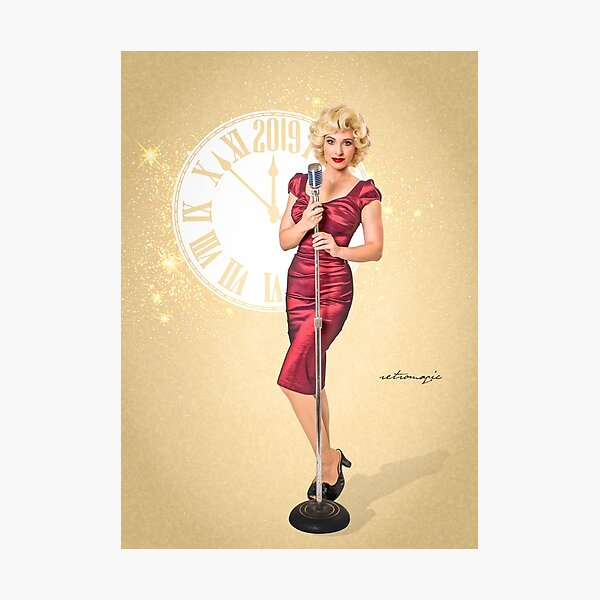 Marilyn Moments by Retromagic Studios Photographic Print