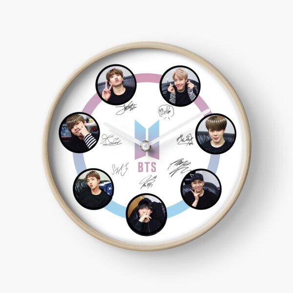 BTS - Members and Signature! Clock