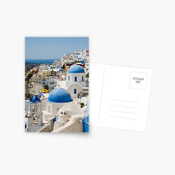 Oia the Beautiful Postcard