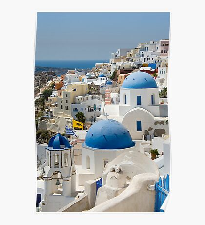 Oia the Beautiful Poster