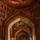 Qila-i-Kuhna Mosque 01 by Werner Padarin