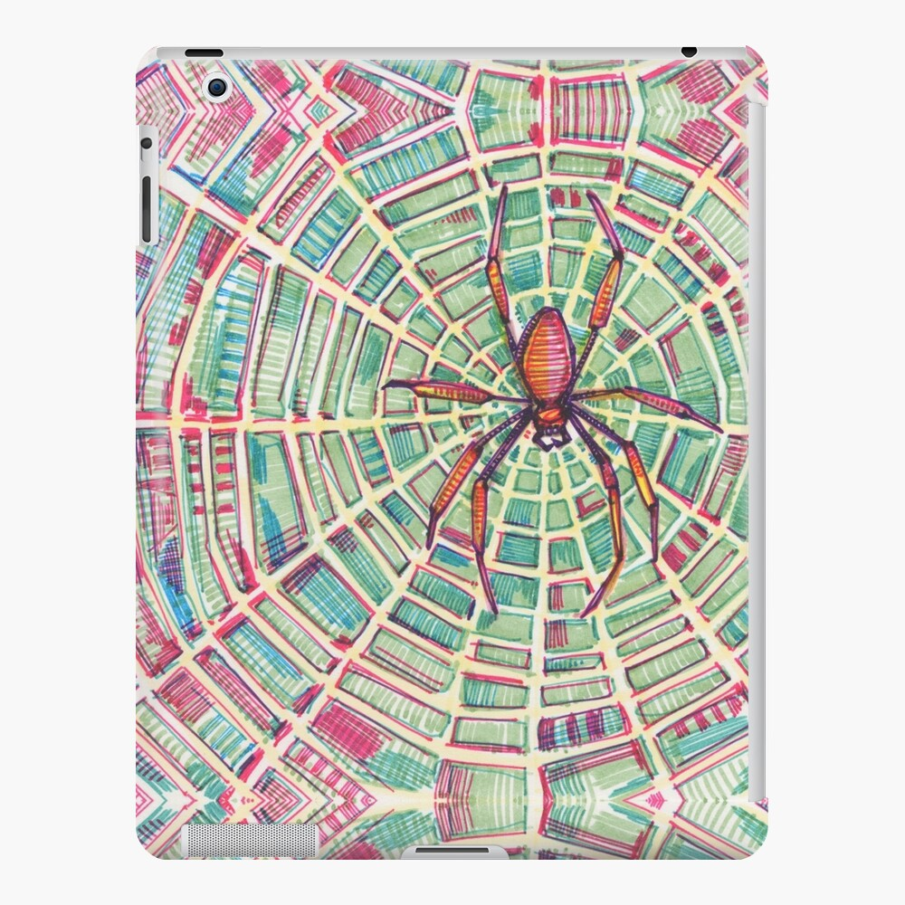 Spider Drawing - 2016 iPad Case & Skin