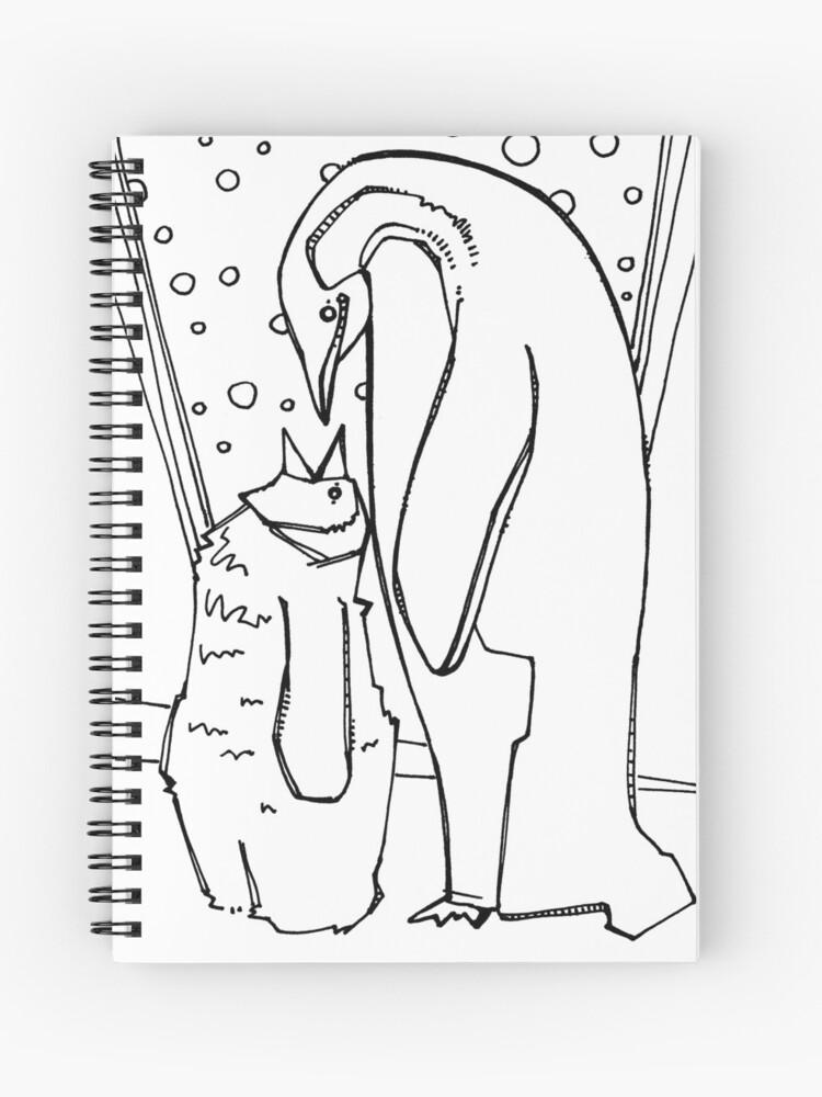 - Emperor Penguin, Coloring Book Page