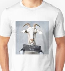 Billy the Kid Goat Unisex T-Shirt
