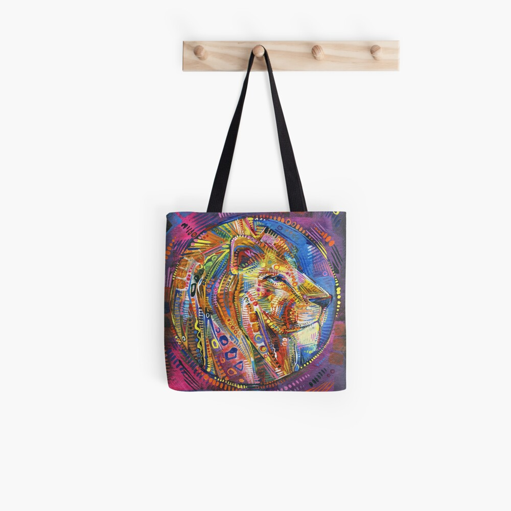 Lion Painting - 2015 Tote Bag