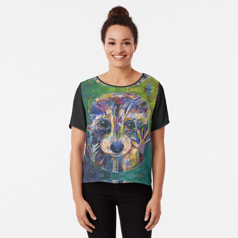 Fairy hands painting - 2015 Chiffon Top