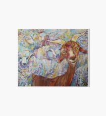 Goat/sheep painting - 2014 Art Board